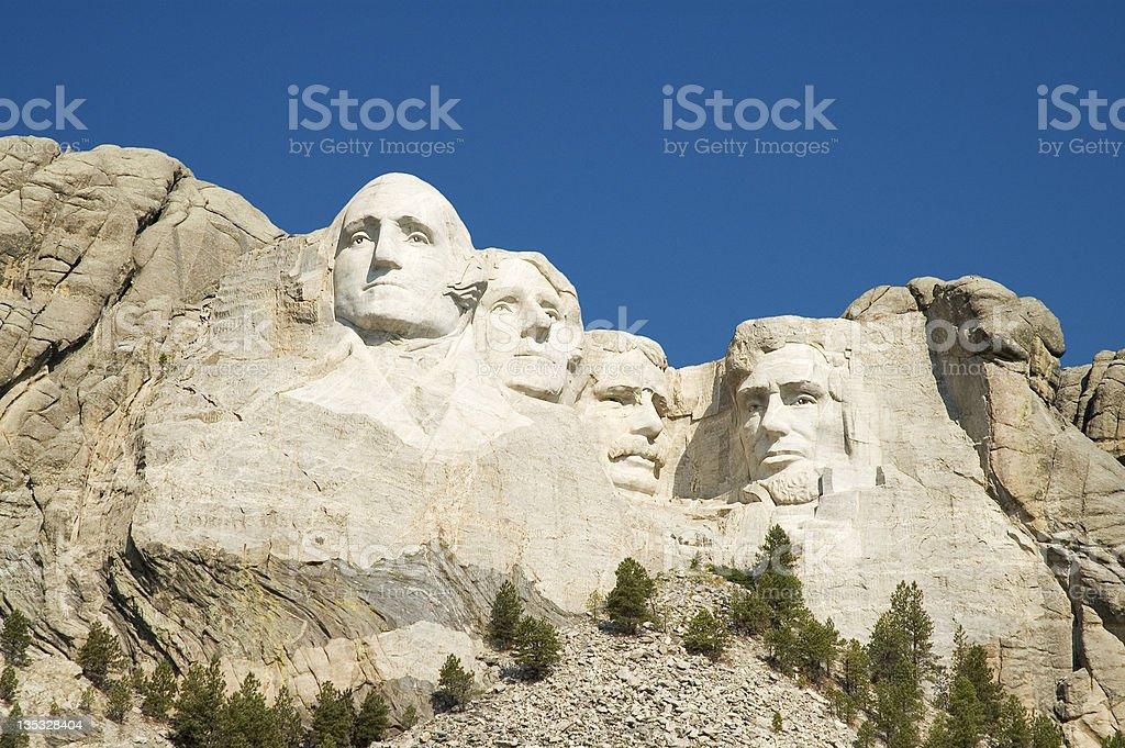 Mount Rushmore Wide-angle stock photo