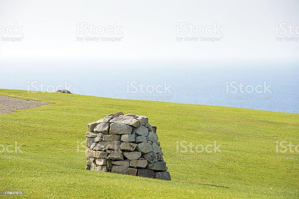 Mount San Pedro, La Coruña, Galicia, Spain stock photo