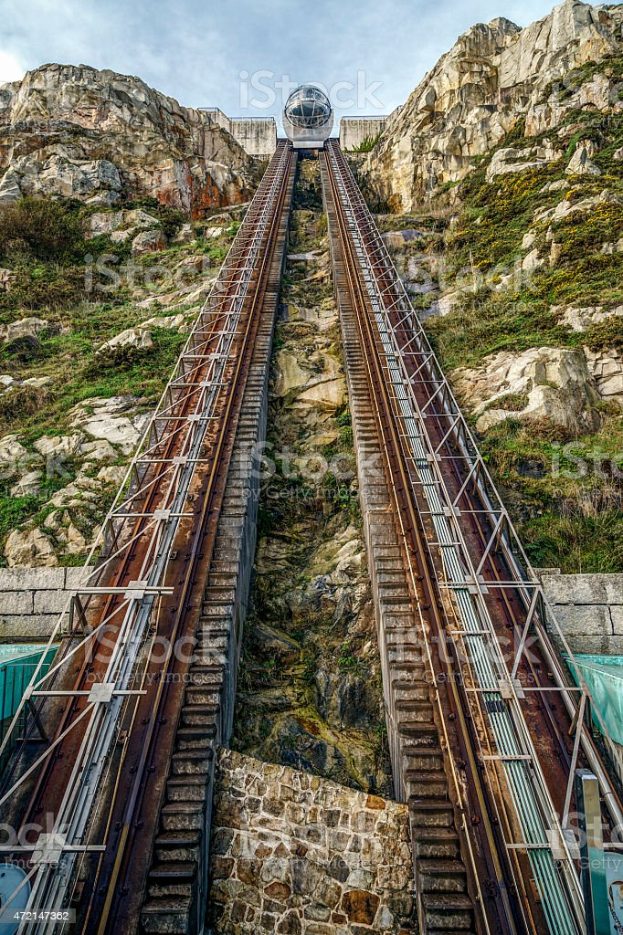 Mount San Pedro, La Coruna, Galicia stock photo