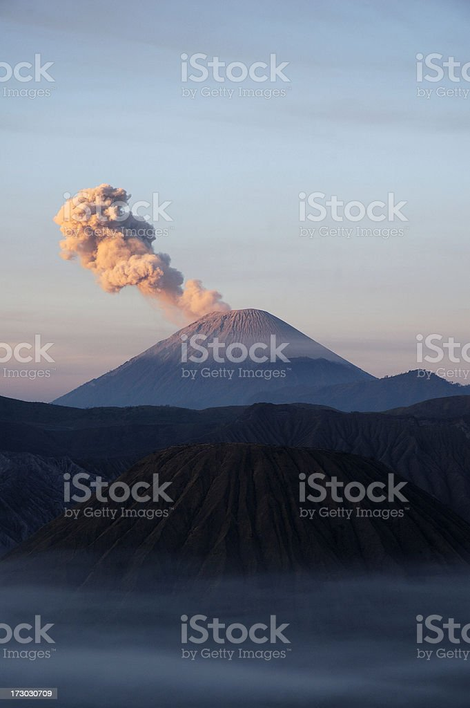 Mount Semeru royalty-free stock photo
