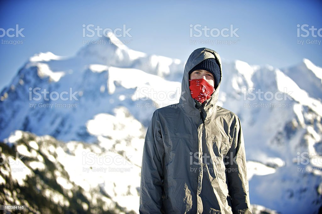 Mount Shuksan royalty-free stock photo