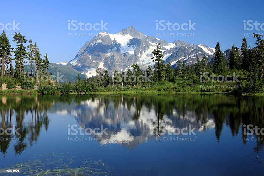 Mount Shuksan, Washington State royalty-free stock photo
