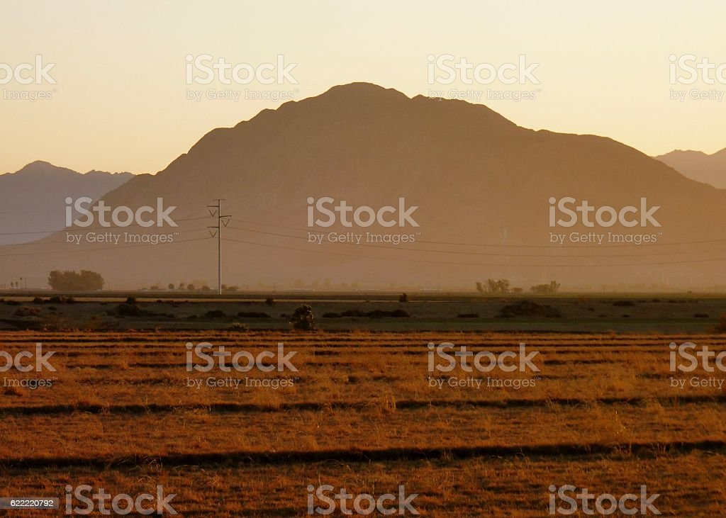 Mount Signal stock photo