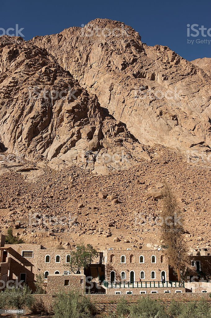 Mount Sinai 2 stock photo