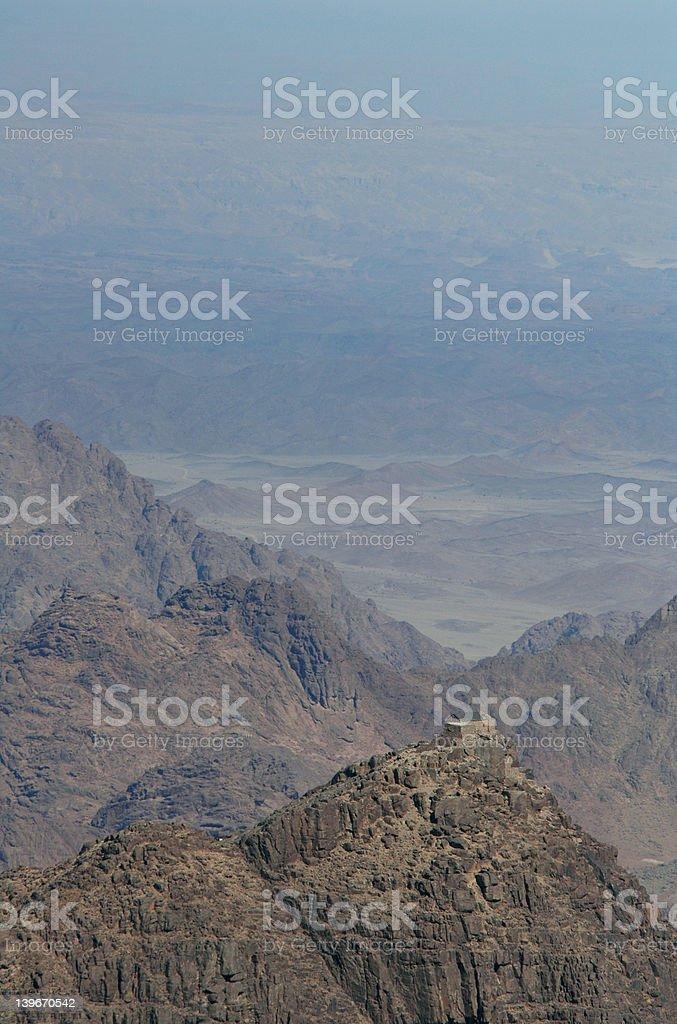 Mount Sinai royalty-free stock photo