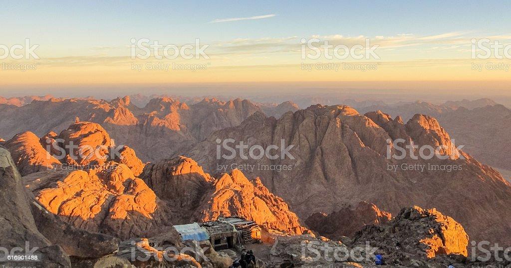 Mount Sinai stock photo