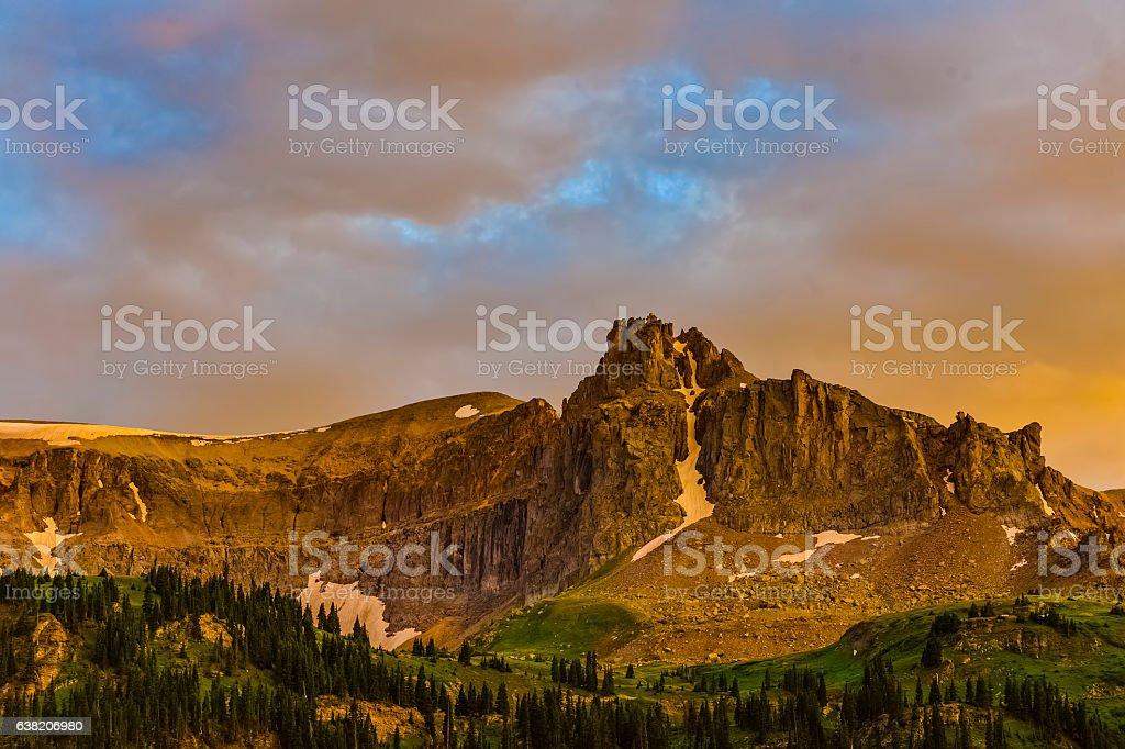Mount Sneffels stock photo