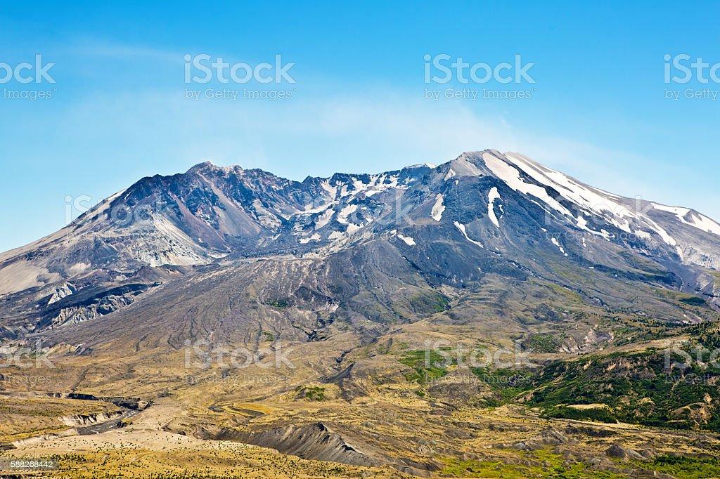 Mount St Helen National Park Volcano Crater stock photo