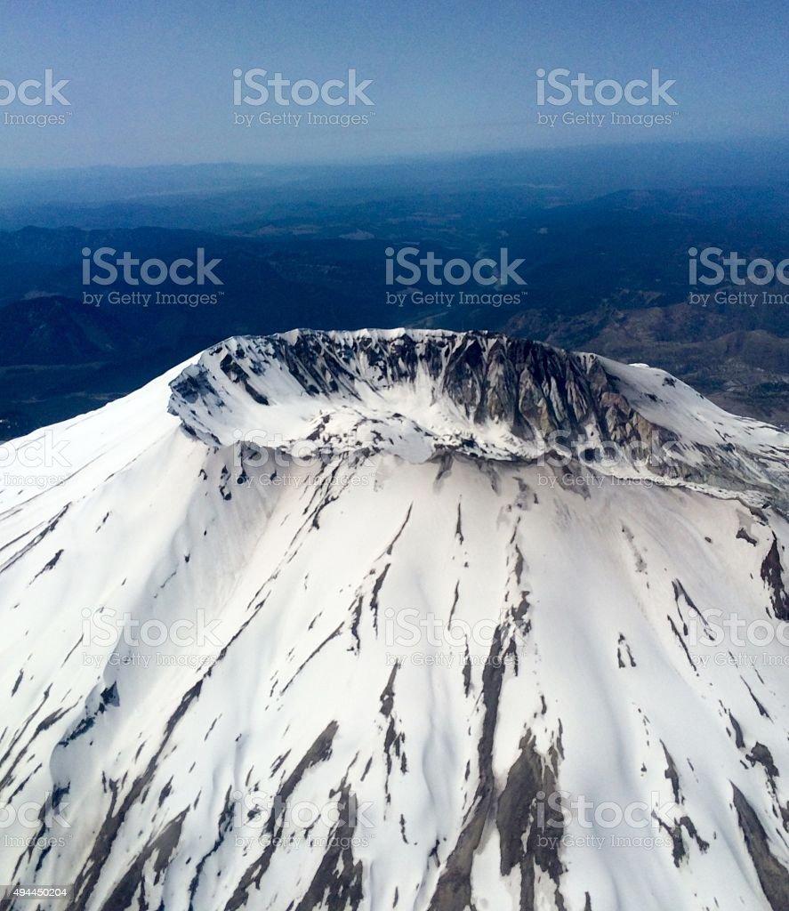 Mount St. Helens stock photo