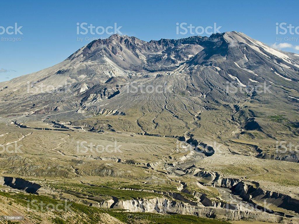 Mount St. Helens, Washington. stock photo