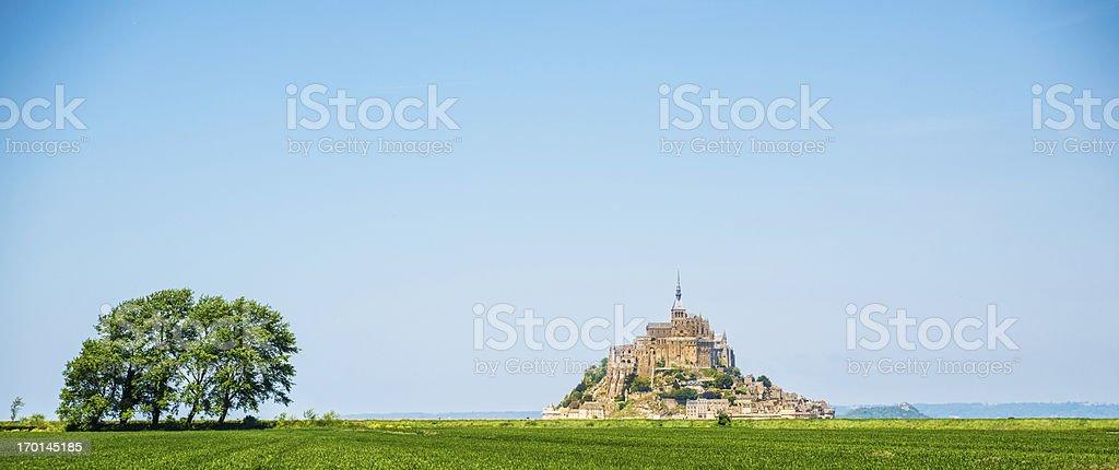 Mount St. Michel royalty-free stock photo