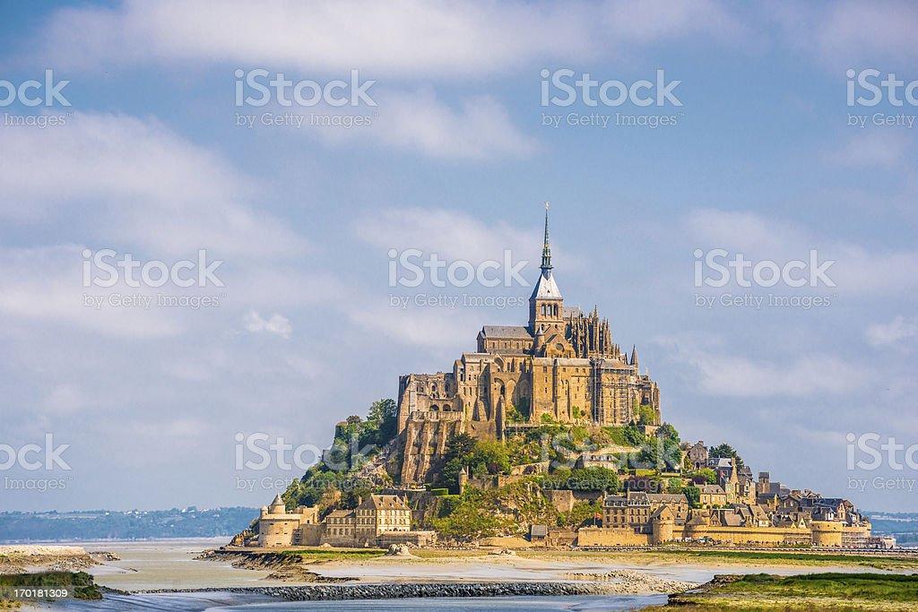 Mount St. Michel stock photo