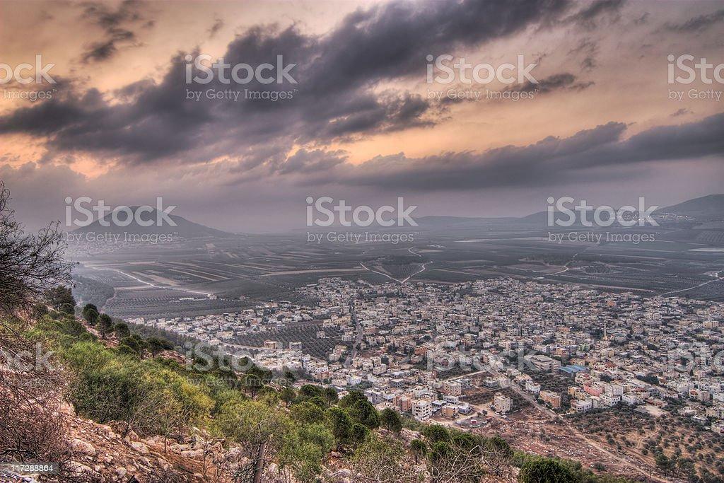 Mount tabor ,Israel stock photo