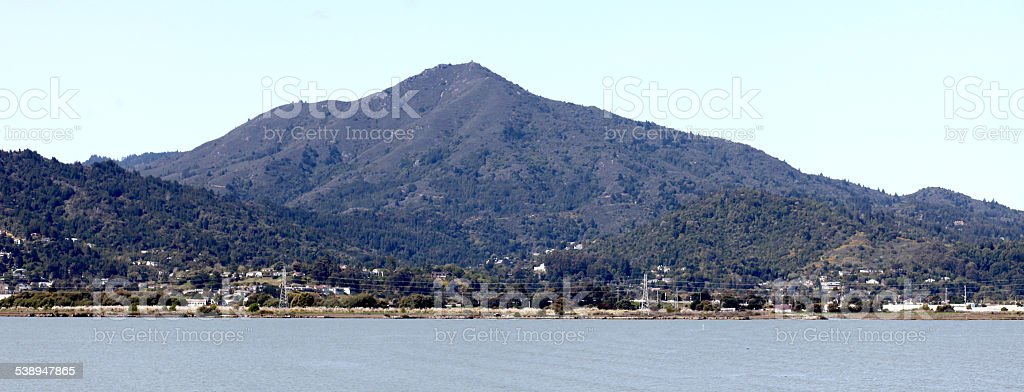 Mount Tamalpais, Marin County, California stock photo