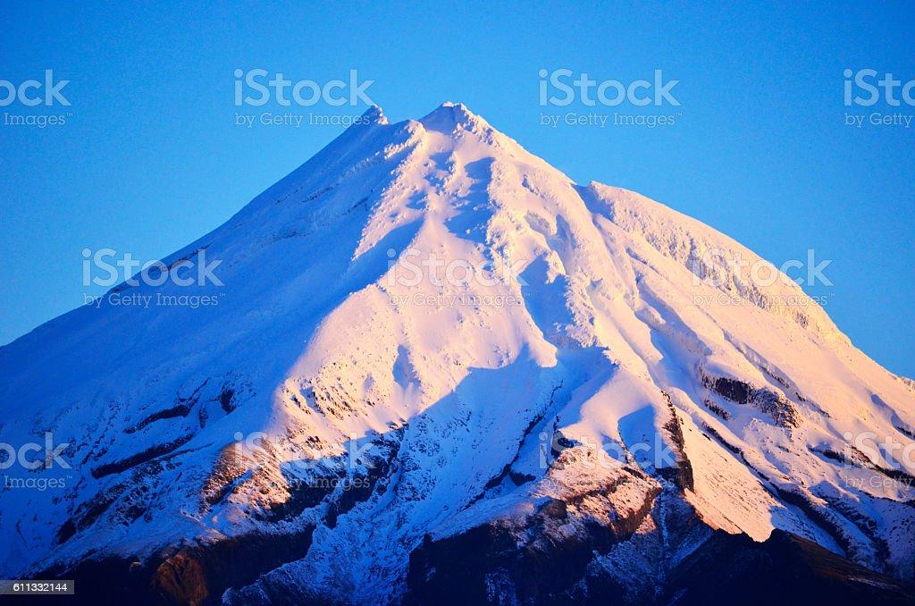 Mount Taranaki Egmont stock photo