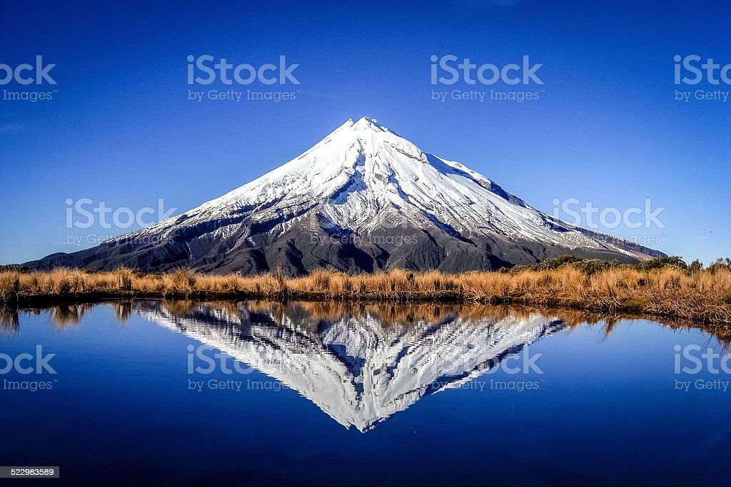 Mount Taranaki (Egmont) - New Zealand stock photo