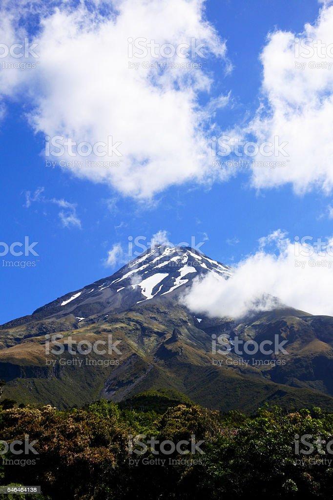 Mount Taranaki, New Zealand stock photo