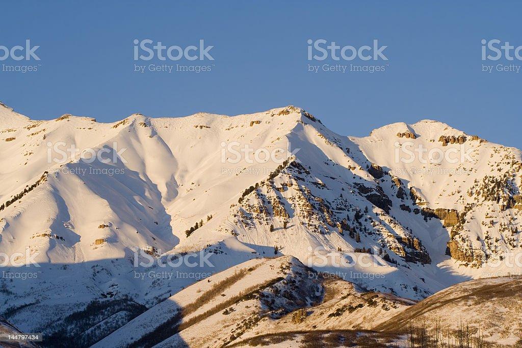 Mount Timpanogos 10 stock photo