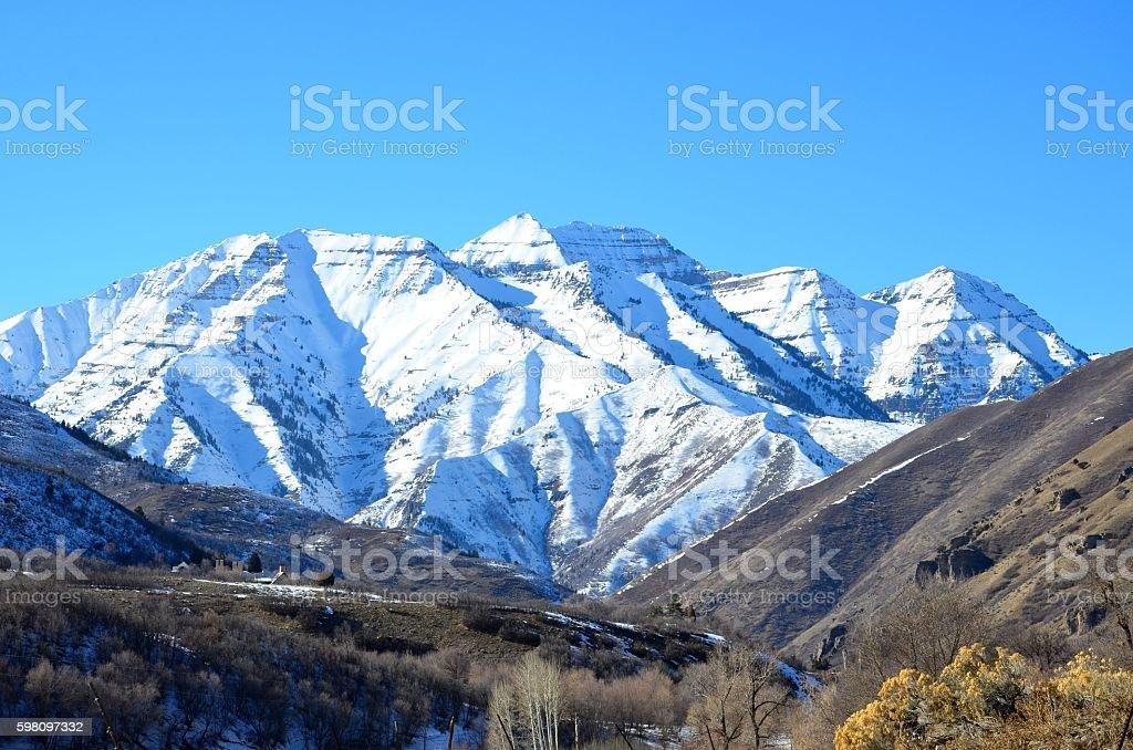 Mont Timpanogos photo libre de droits