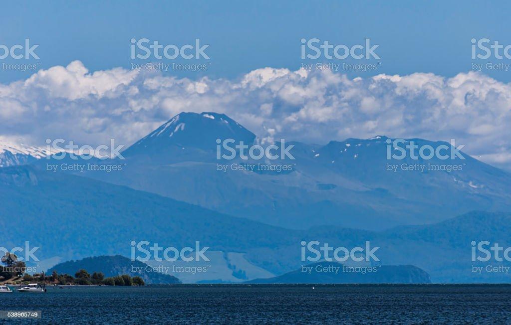 Mount Tongariro stock photo