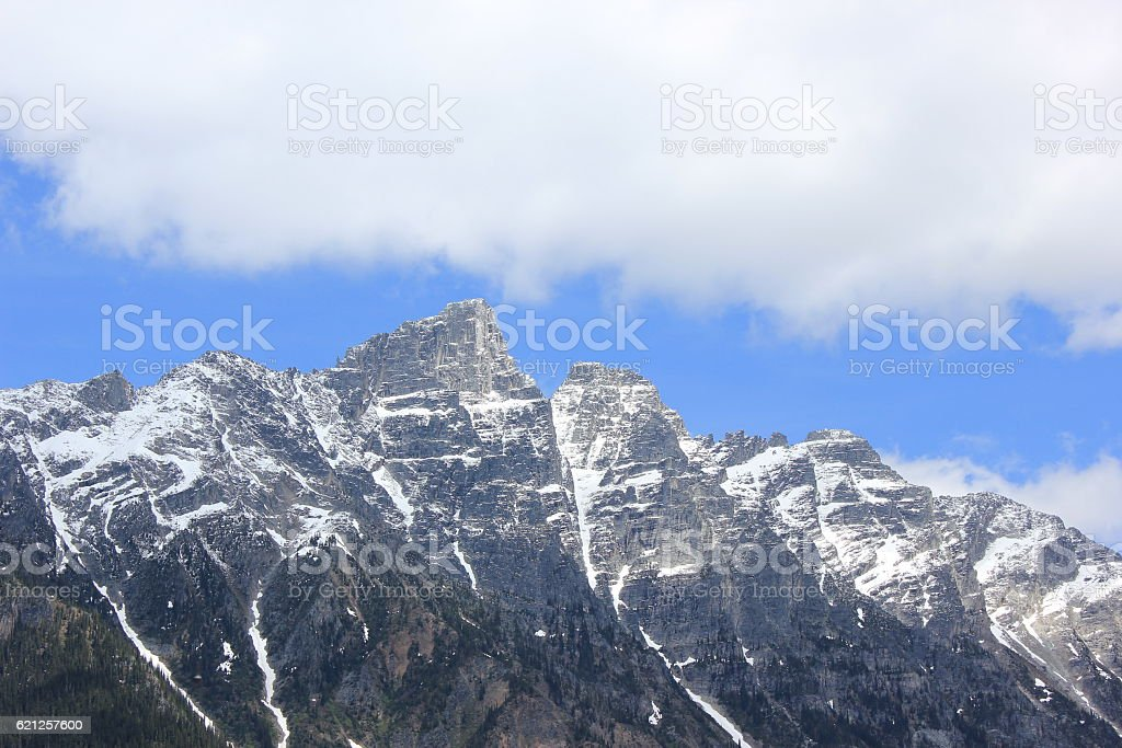 Mount Tupper stock photo