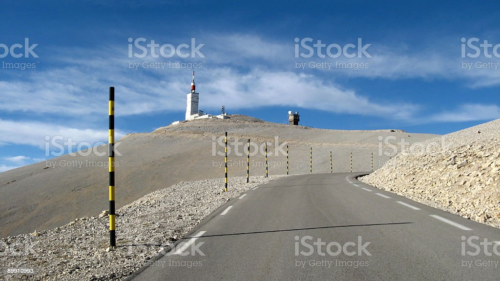 Mount Ventoux, by Bedoin, Vaucluse, France stock photo