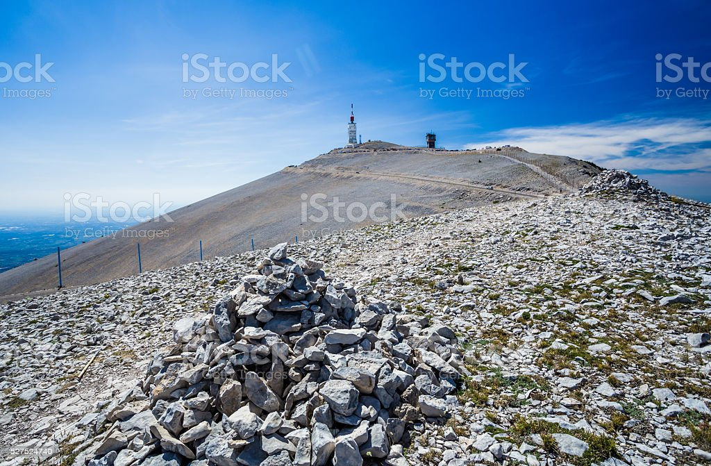 Mount Ventoux stock photo