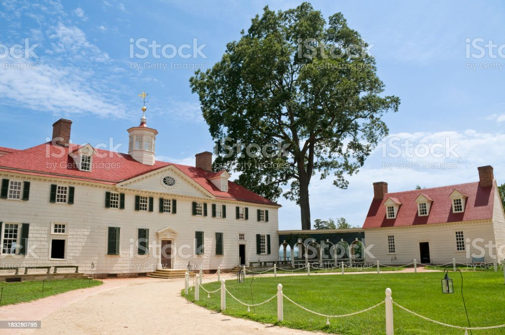 Mount Vernon stock photo