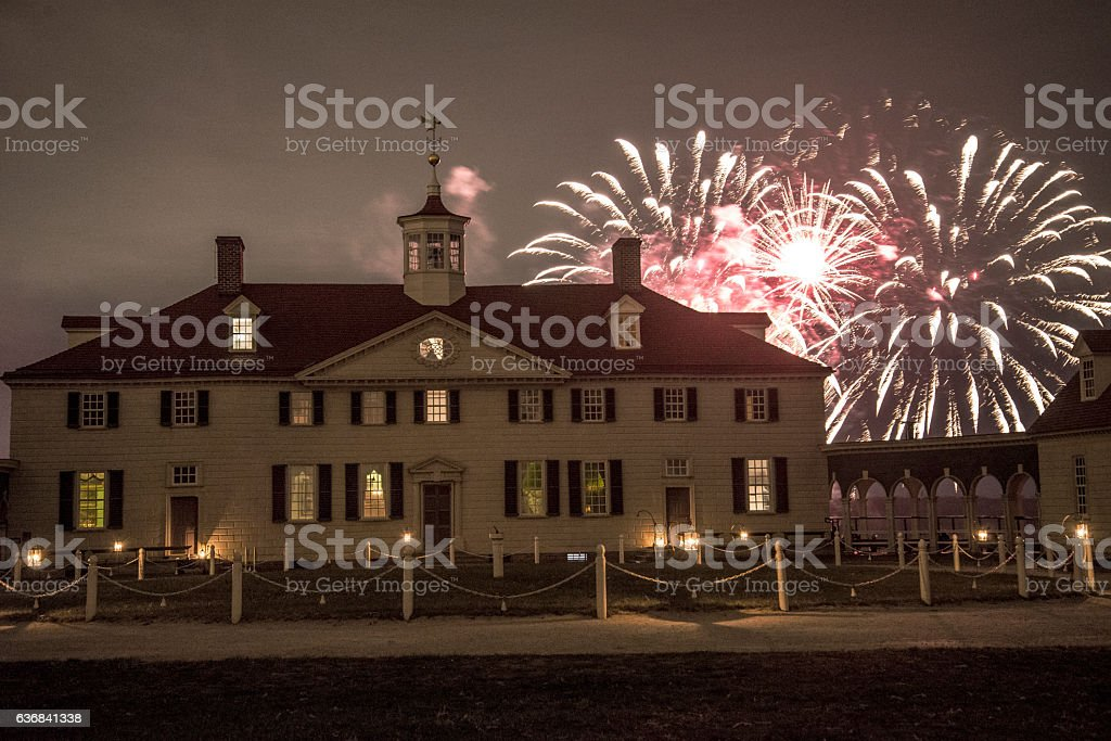 Mount Vernon, VA stock photo