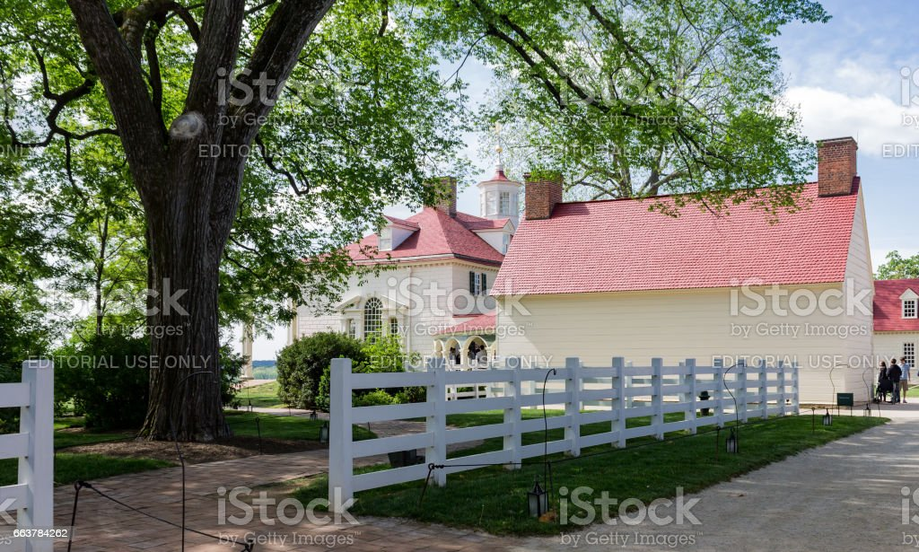Mount Vernon Virginia stock photo
