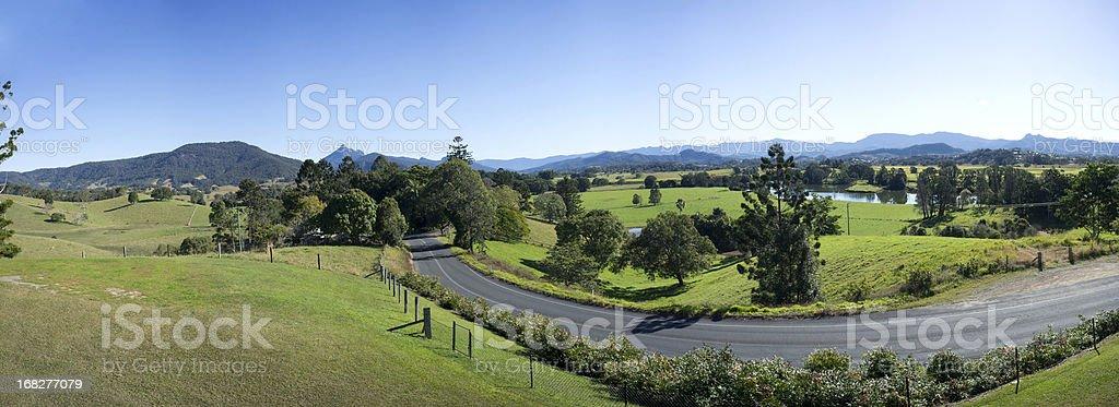 Mount Warning Panorama stock photo