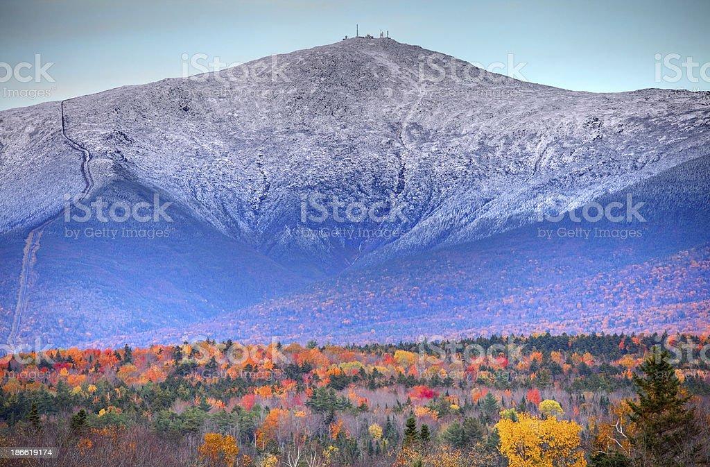 Mount Washington stock photo