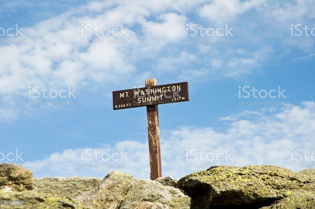Mount Washington (NH, Usa) stock photo