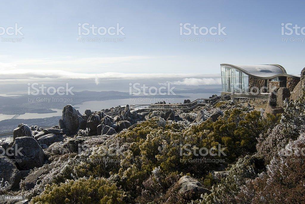 Mount Wellington Observatory stock photo