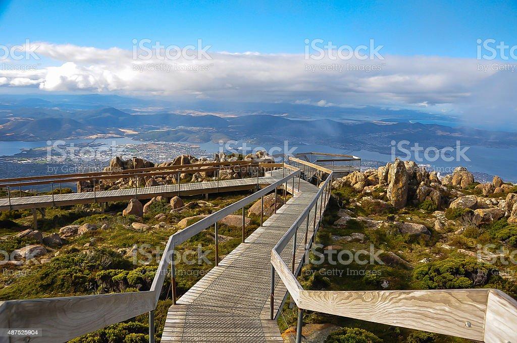 Mount Wellington, Tasmania stock photo