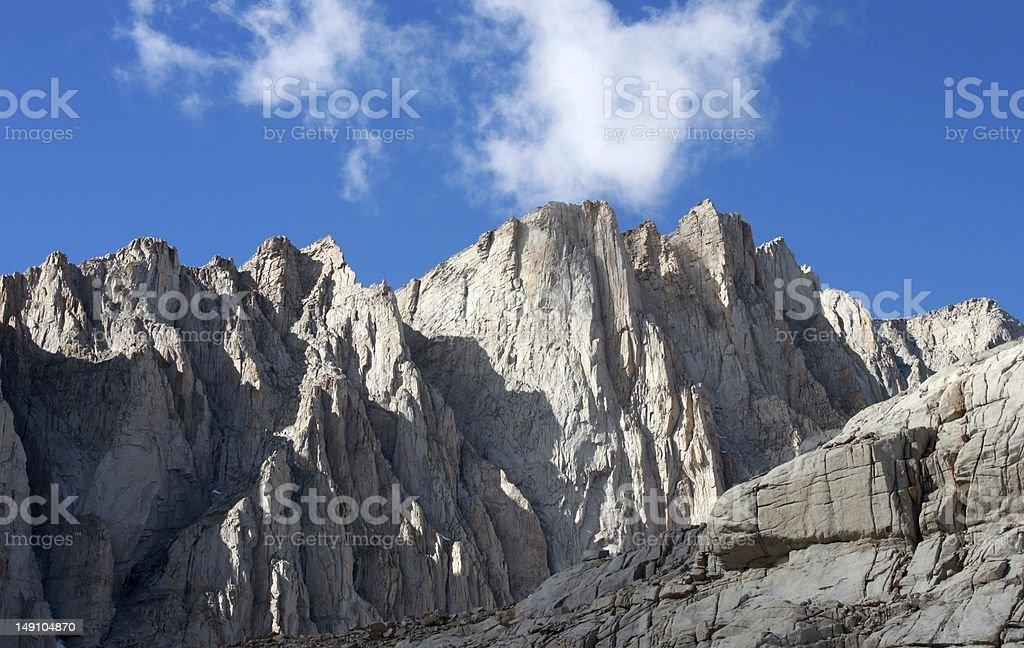 Mount Whitney royalty-free stock photo