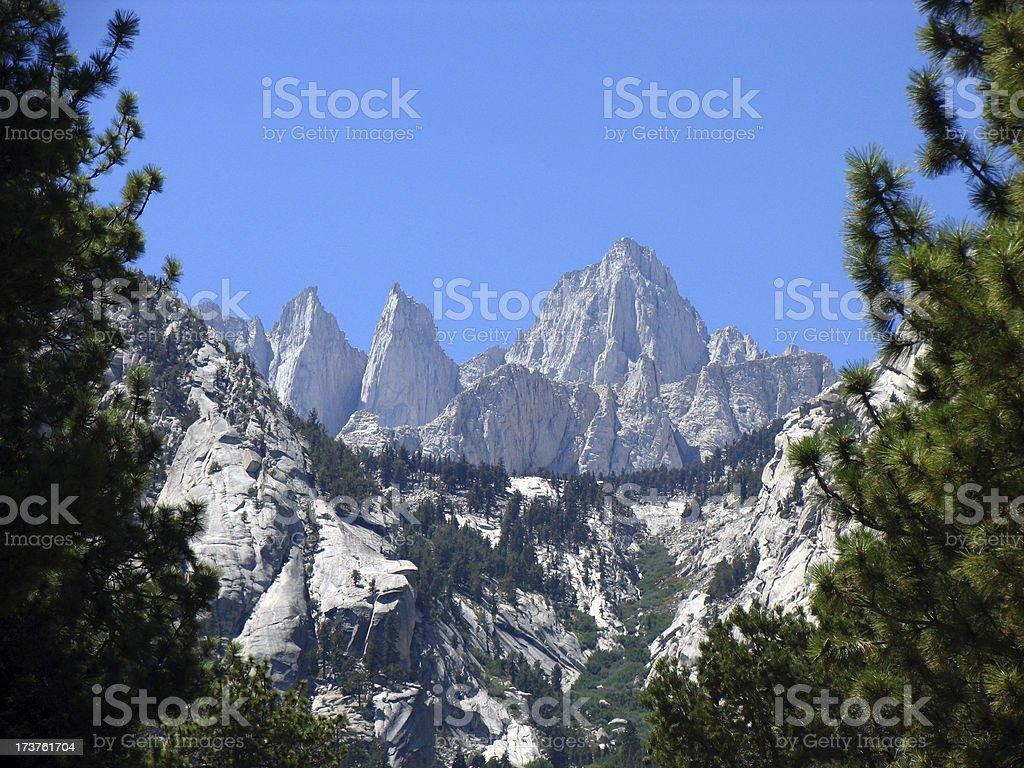 Mount Whitney stock photo
