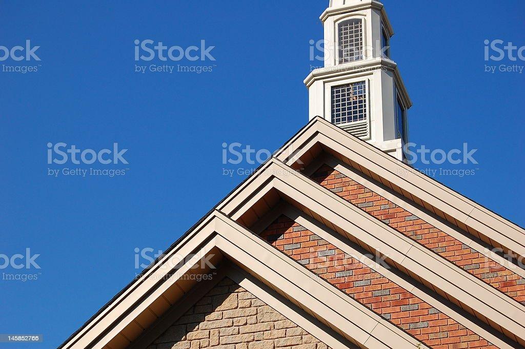 Mount Zion Church stock photo