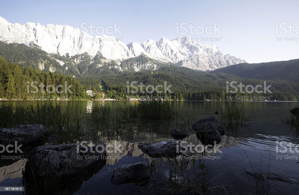 Mount Zugspitze, Germany royalty-free stock photo