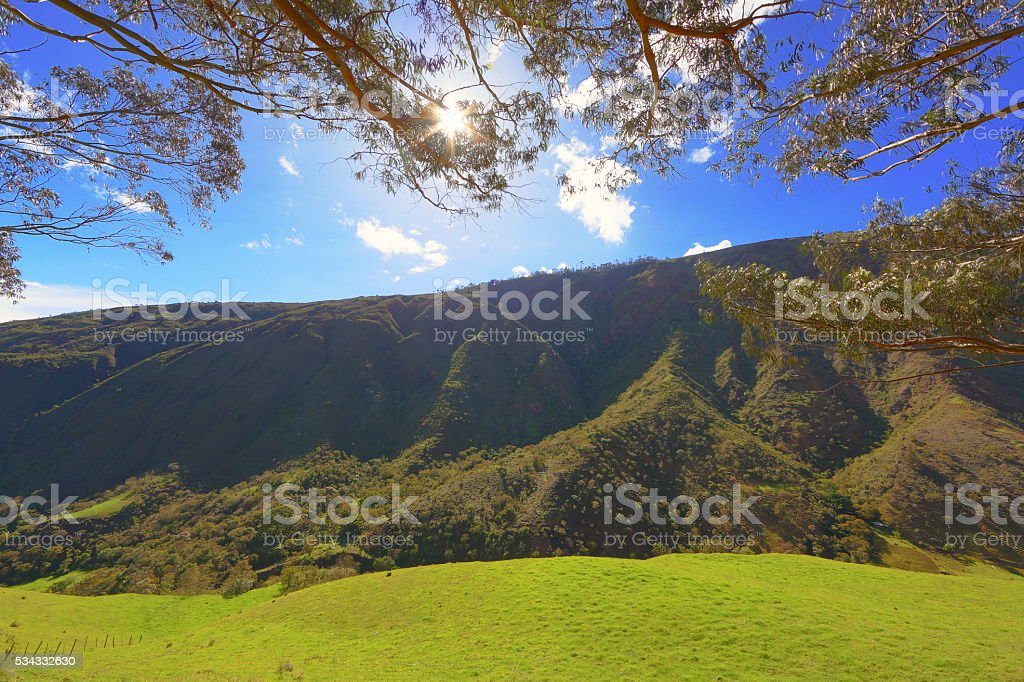 Mountain Afternoon stock photo