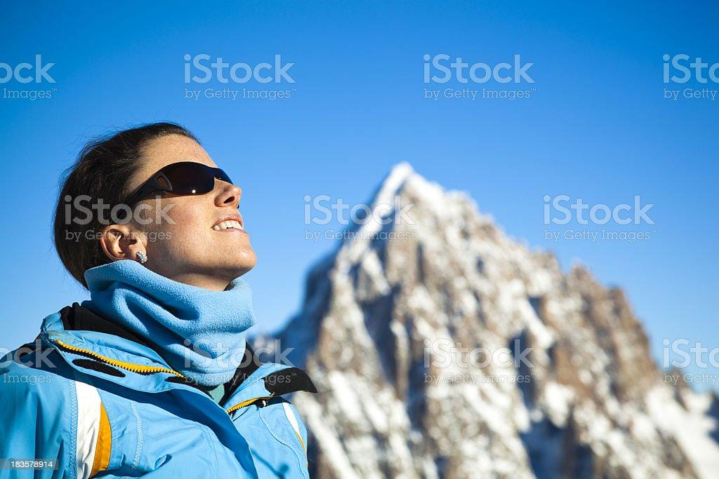 mountain air royalty-free stock photo