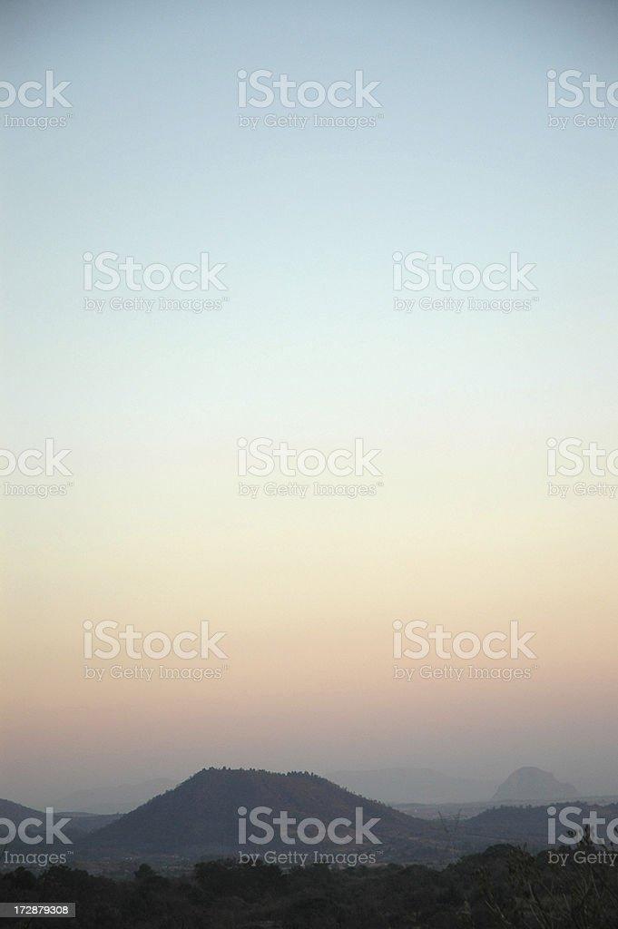 Небо и горы Стоковые фото Стоковая фотография