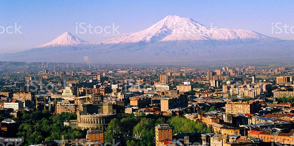 Mountain Ararat. stock photo