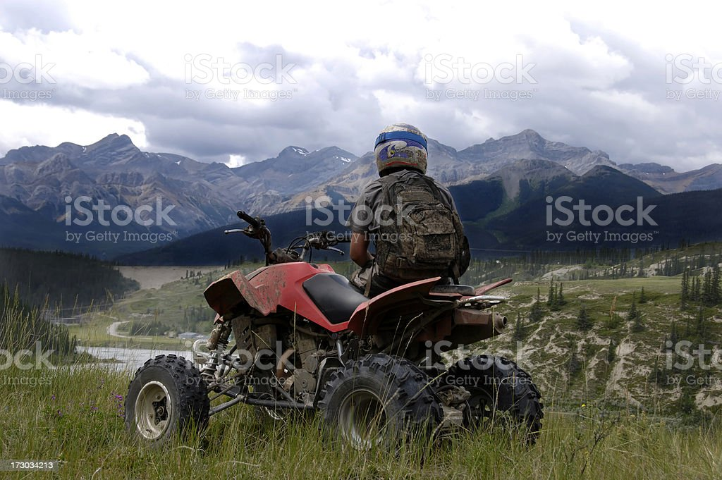 Mountain Quader royalty-free stock photo