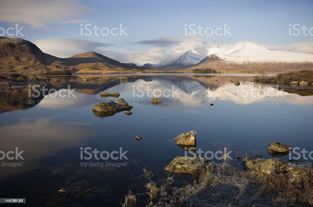 Mountain atmosphere stock photo
