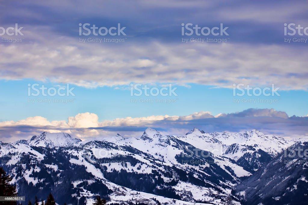 Mountain, Austria stock photo