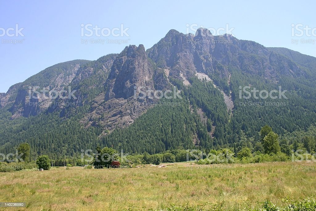 Mountain Background royalty-free stock photo