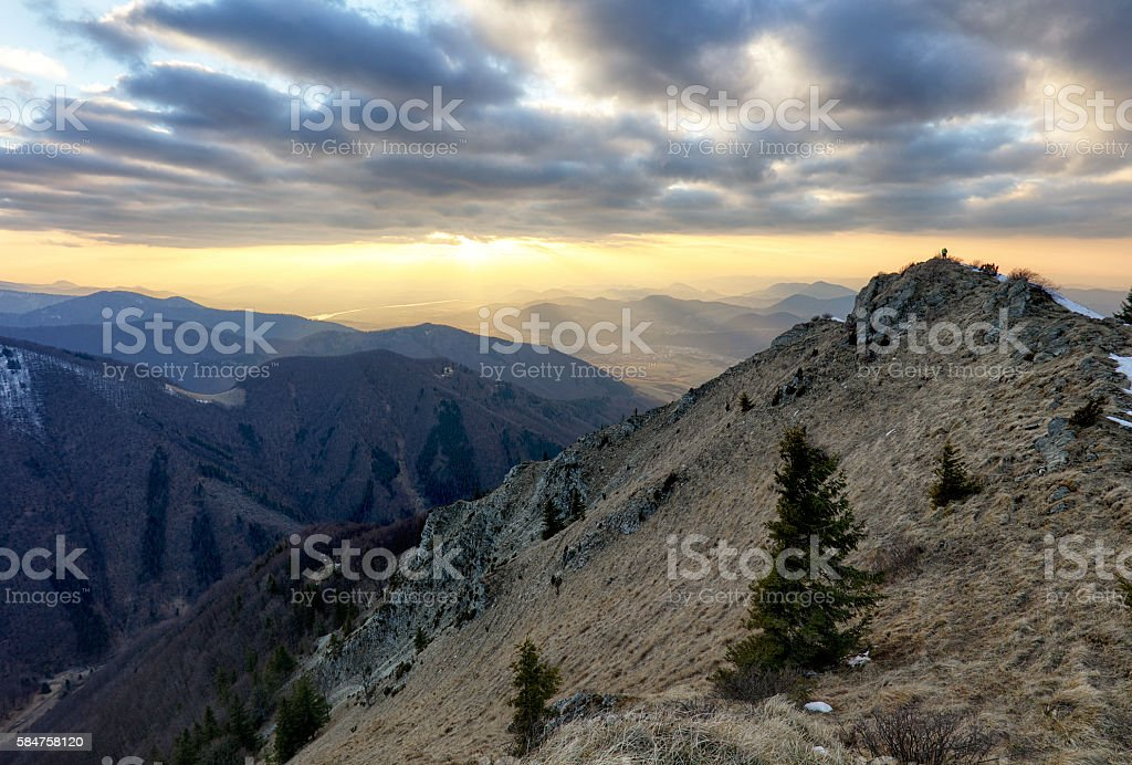 Mountain. Beautiful mountain landscape. stock photo