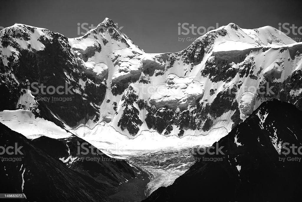 Mountain Belukha stock photo