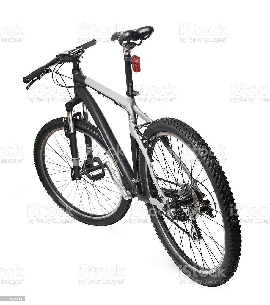 Mountain bicycle bike isolated on white royalty-free stock photo